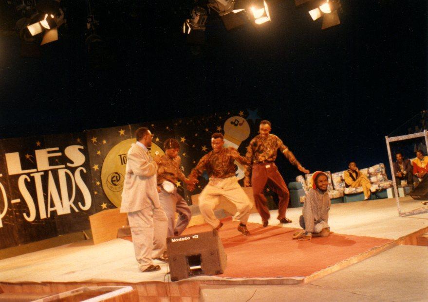 """Participation à l'émission télévisée """"Les Top-Stars"""" au Cameroun"""
